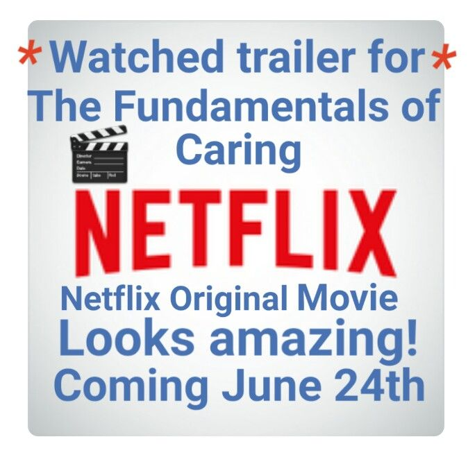 #netflixcanada #netflixoriginal movie called #TheFundamentalsofCaring Looks amazing. #streamteam #netflixcanada