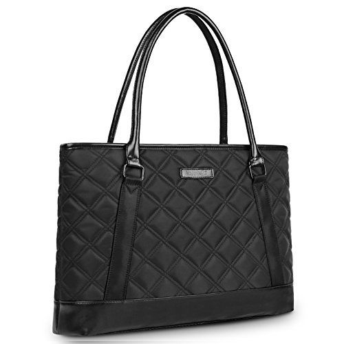 New Trending Briefcases amp; Laptop Bags: Laptop Tote Bag, DTBG 15.6 Inch Nylon Classic Diamond Pattern Travel Business Computer Shoulder Bag Carrying Briefcase Handbag For 15 - 15.6 Inch Laptop / Notebook / MacBook / Ultrabook /Tablet,Black. Laptop Tote Bag, DTBG 15.6 Inch Nylon Classic Diamond Pattern Travel Business Computer Shoulder Bag Carrying Briefcase Handbag For 15 – 15.6 Inch Laptop / Notebook / MacBook / Ultrabook /Tablet,Black   Special Offer: $38.9