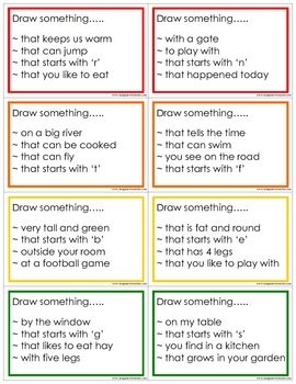 I love this drawing prompt activity because it allows the student to relate to everyday experiences, as well as relating and inferencing from daily life experiences and skills. This is a great way I found my students to be able to connect everyday experiences with communication.
