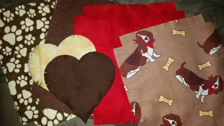 Flannel rag quilt kit Basset Hound dog Bassett fringed die cut fabric squares batting ready to sew quilting gift reversible #bassethound, #bassetthound, #dog, #ragquilt, #quiltkit, #fabric, #etsy - pinned by pin4etsy.com