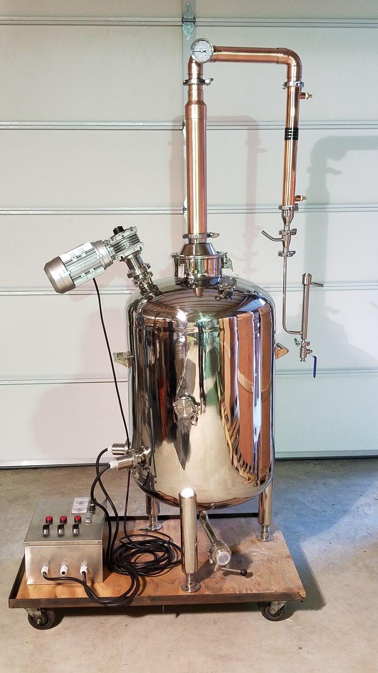 53 Gallon (200L) Stripping Still Moonshine still
