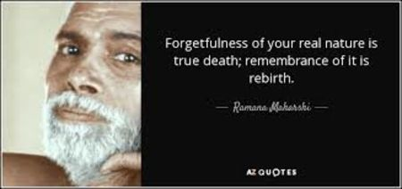 FORGETFULNESS OF OUR TRUE NATURE IS DEATH #FireandWater
