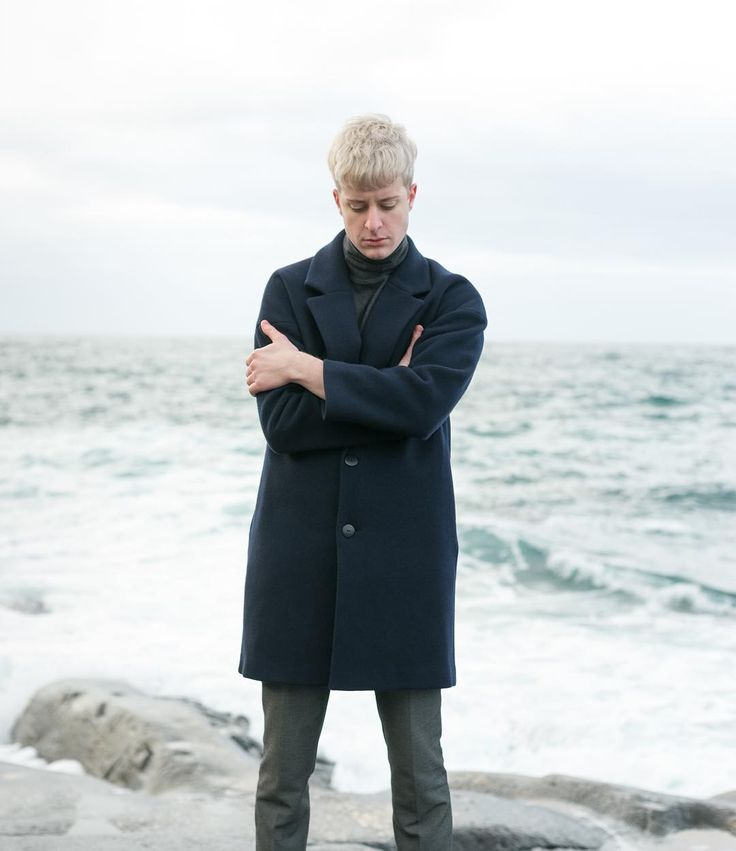 Modern ease with Olav Coat.