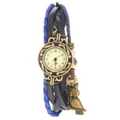 Owl Shape Decorated Multilayer  Sapphire Blue. Fashionable with passion REPIN if you like it.😍 Only 65 IDR