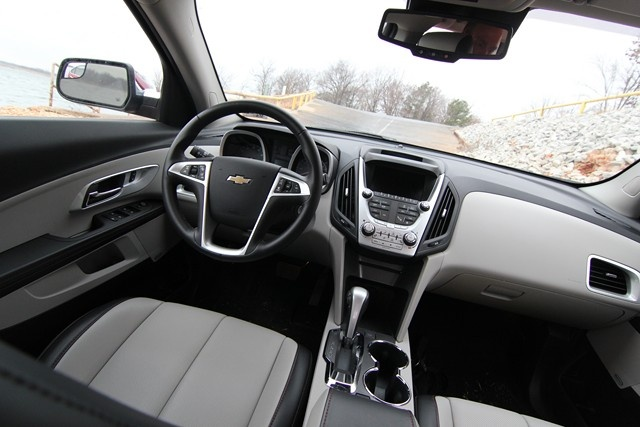 2013 Chevrolet Equinox LTZ photo copyright Brad Wiegmann Outdoors http://www.bradwiegmann.com/tow-and-suv-vehicle-review/suv-reviews/1005-2013-chevrolet-equinox-fwd-ltz.html#