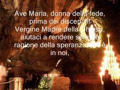 PREGHIERA ALLA MADONNA DI LOURDES DI GIOVANNI PAOLO II.wmv
