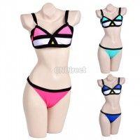 Womens Bikini SET Push-up Padded Sexy Bra Swimsuit Bathing Suit Swimwear Swimset