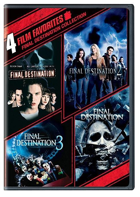 4 Film Favorites: Final Destination (4FF / DVD / WS / NTSC) Devon Sawa, Ali Larter, Mary Elizabeth Winstead, Ryan Merriman, Nick Zano