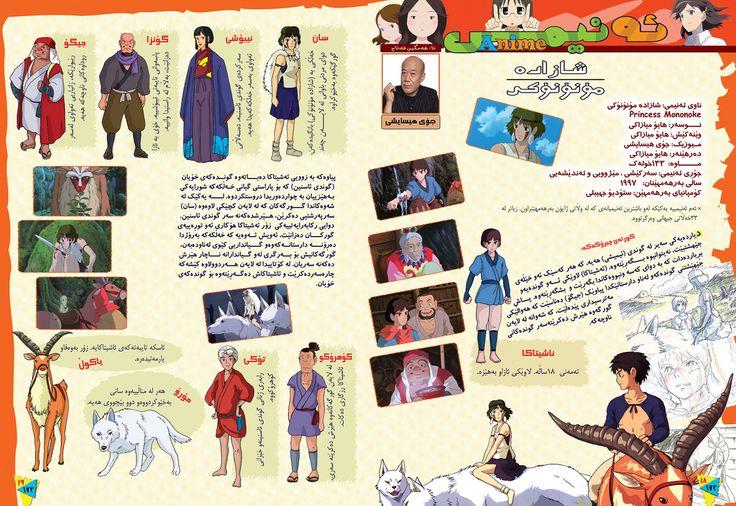 Princess Mononoke - Công chúa sói -もののけ姫- 幽靈公主شاهزاده مونونوکه Księżniczka Mononoke - La Princesa Mononoke - Mononoke Hime -- Princesse Mononoké (French) Principessa Mononoke (Italian)