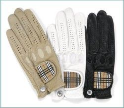 burberry golf glove.  one in each color please.