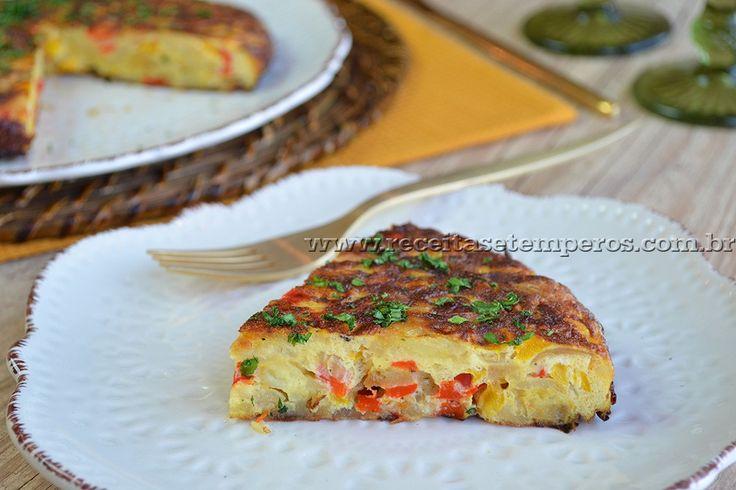 Tortilha espanhola | Receitas e Temperos