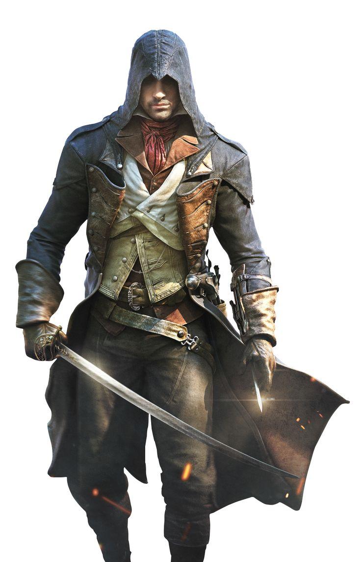 Assassin's Creed Unity Render by Zero0Kiryu on deviantART