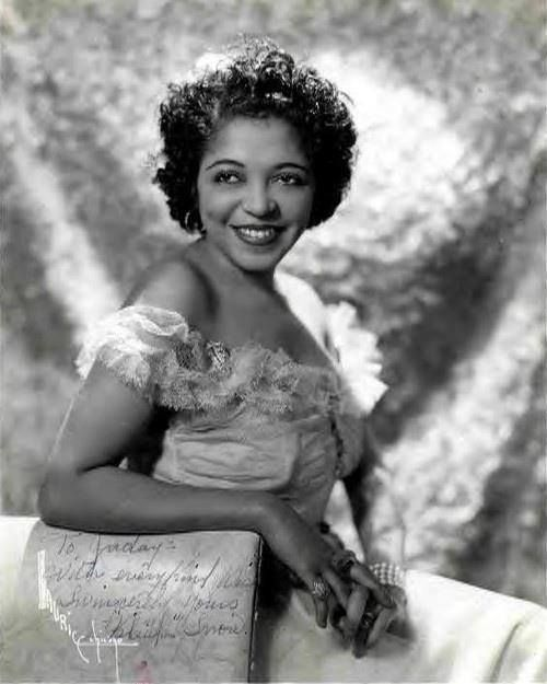 "Jazz trumpeteer Valaida Snow. She was named ""Little Louis"" after Louis Armstrong himself, who used to call her the world's second best jazz trumpet player besides himself."