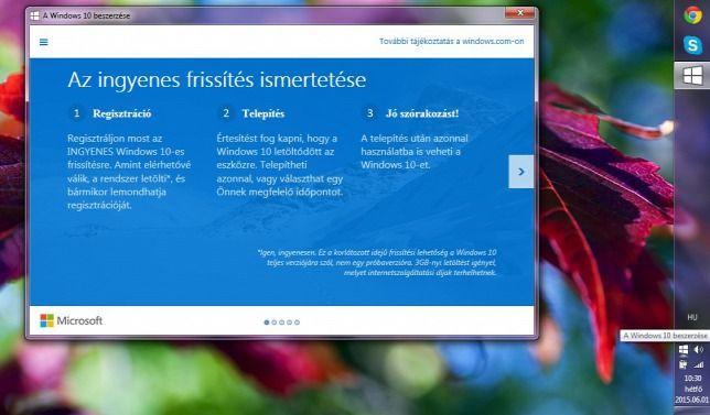 Így telepítheti most azonnal az új Windows 10-et