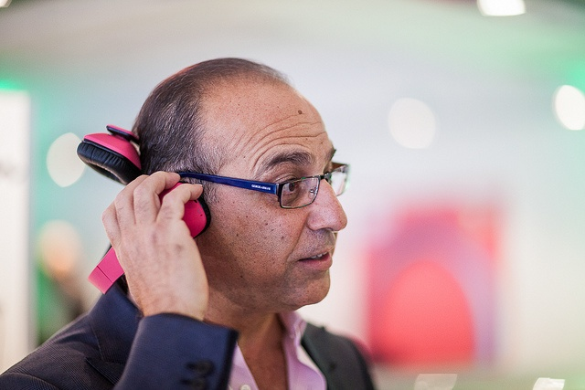 Dragon Den's Theo Paphitis is ticked pink with the iT7x2 headphones
