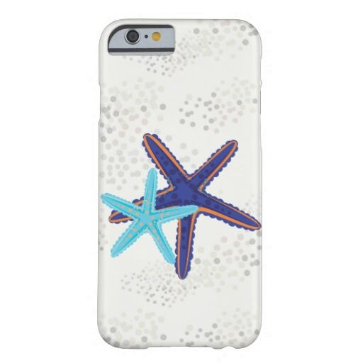 Sand with starfish barely there iPhone 6 case