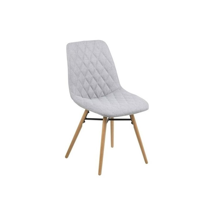 Jídelní židle Filip, šedá látka