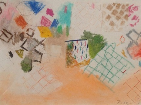 Sandra Blow, untitled sheet of studies @ Vanessa Clewes Salmon Art