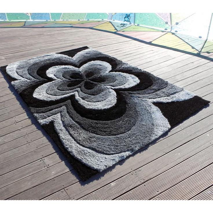 Carving Alfombra moderna Rose 3D Alfombra Rose 3D Carving de estilo moderno de fabricación artesanal. Tres medidas a elegir o pídenos presupuesto para una...