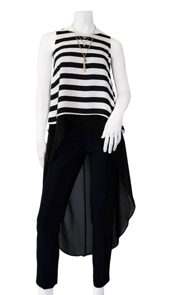 Get this statement top by Frank Lyman in stores now!