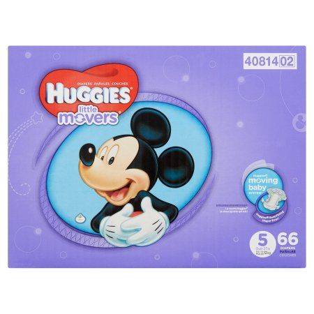 Huggies Little Movers Diapers Size 5 - 66 CT