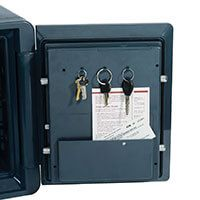 first alert fire safe with combination lock 2087f keys