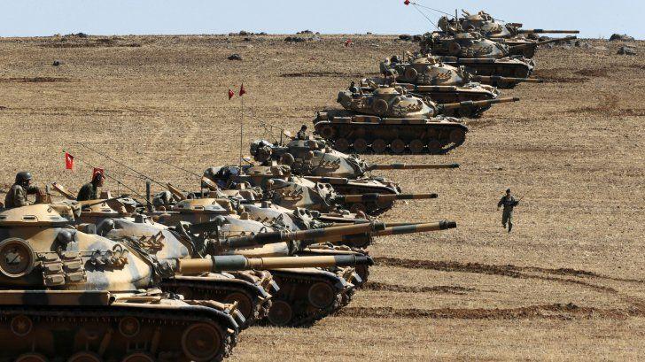 Turcia si Arabia Saudita ar putea lansa atacul spre Siria