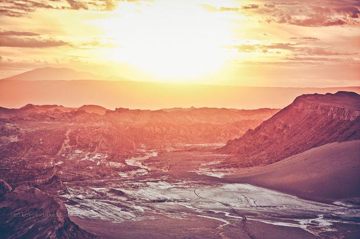Sunset, Valle de La Luna, Chile