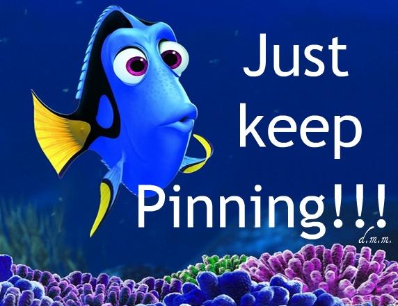 Just keep pinning, just keep pinning!!!