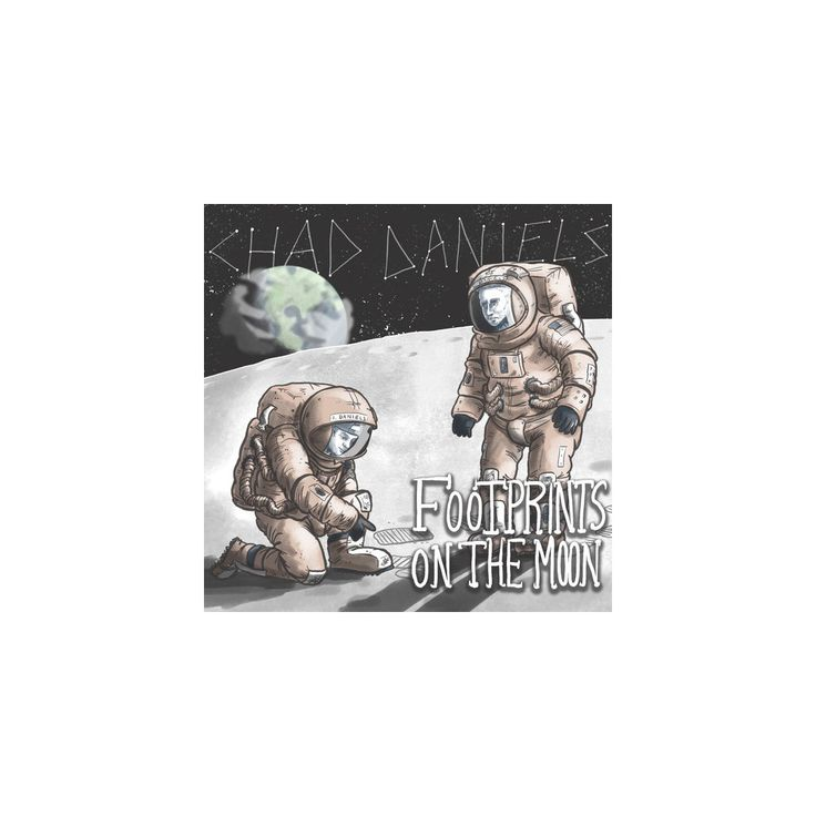 Chad Daniels - Footprints on the Moon (CD)