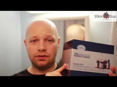 Check out TheSalonGuy's shave and review on The Art of Shaving's Perfect Shave kit in Ocean Kelp. The Boardroom Salon carries TAOS full size kits in Ocean Kelp as well as Lavender, Lemon, Sandalwood, and Unscented.