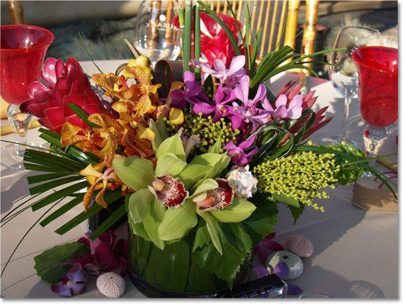 Best ideas about hawaiian centerpieces on pinterest