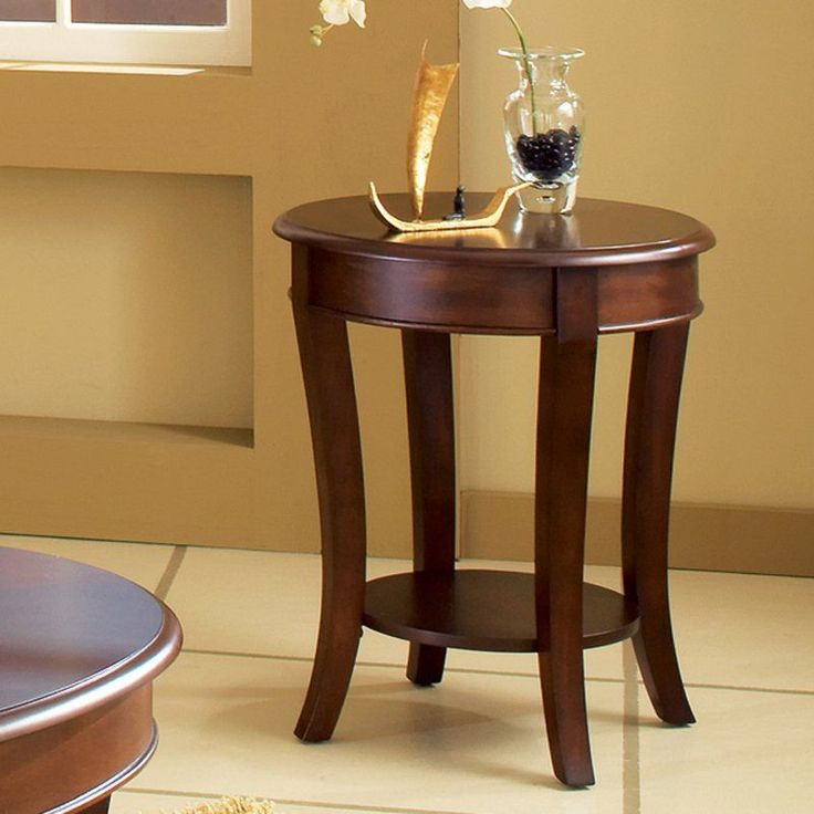 Steve Silver Troy Round Cherry Wood End Table -   About Steve Silver Since its founding in Forney, Texas, in 1987, the Steve Silver Company has had a simple focus: to provide the best quality...