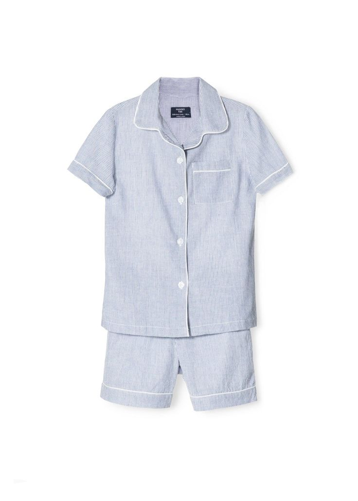 Striped cotton pyjamas -  Kids | MANGO 5/6 years