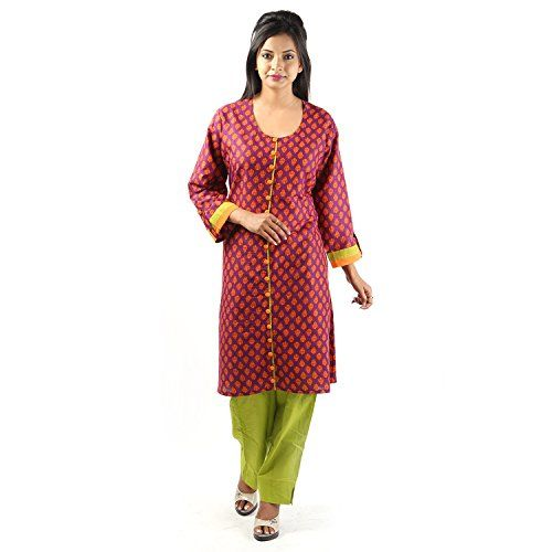Damyantii Cotton Puprle Kurti For Women 48 Damyantii http://www.amazon.in/dp/B00TU0PMJK/ref=cm_sw_r_pi_dp_mPY-ub0A0BBCS