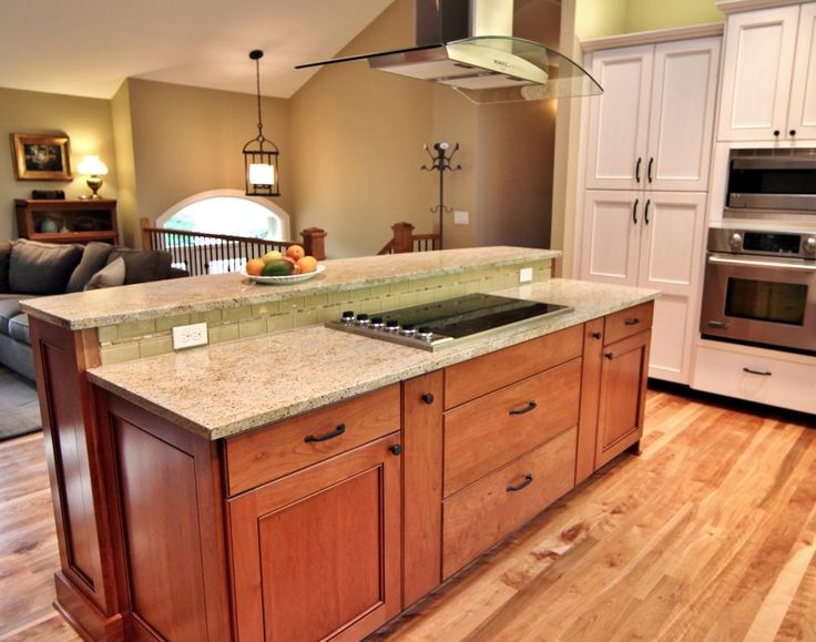 Raised Ranch Kitchen Traditional With Glass Tile Convection Ovens  Http://www.DesignersEdgeKitchenAndBath