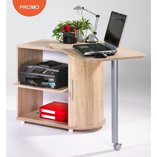 bureau avec plateau pivotant salsa salsa bureaux et ps. Black Bedroom Furniture Sets. Home Design Ideas