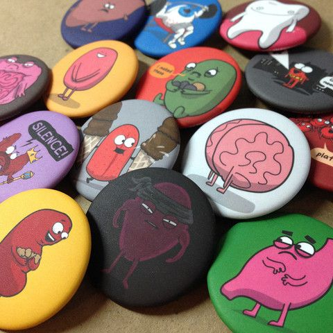 "1.5"" Character Buttons – The Official Awkward Yeti Store - theAwkwardStore.com"