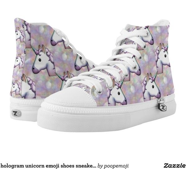 hologram unicorn emoji shoes sneakers printed shoes (309.830 COP) ❤ liked on Polyvore featuring shoes, sneakers, holograph, hologram shoes, holographic sneakers, hologram sneakers, holographic shoes and holographic trainers