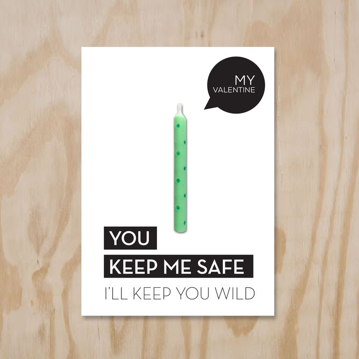 #Valentijnkaart. #Valentine Candle Card, You keep me safe...