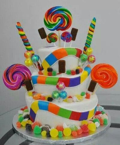 Fábrica de colores   tortas   Pinterest   Candy cakes ...
