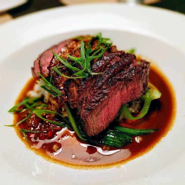 Grass Fed Beef Sirloin with Organic Bok Choy Soy and Ginger  #mercerkitchen #springfood #organic #nongmo #soho #grassfedbeef #local