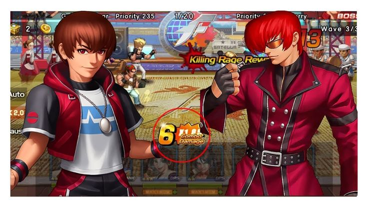 KOF 98 UM OL Combo | Gameplay in Slow Motion