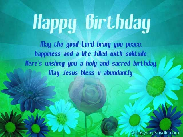 17 best ideas about Christian Birthday Greetings – Birthday Greeting Christian