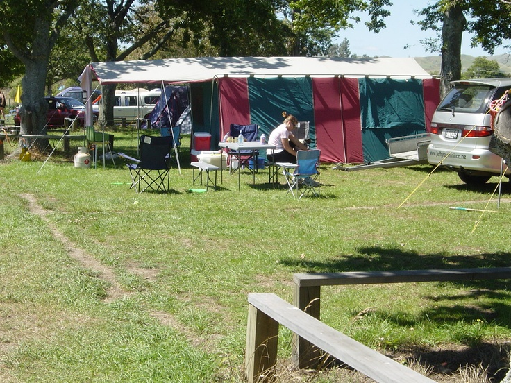 Large family tent sites.