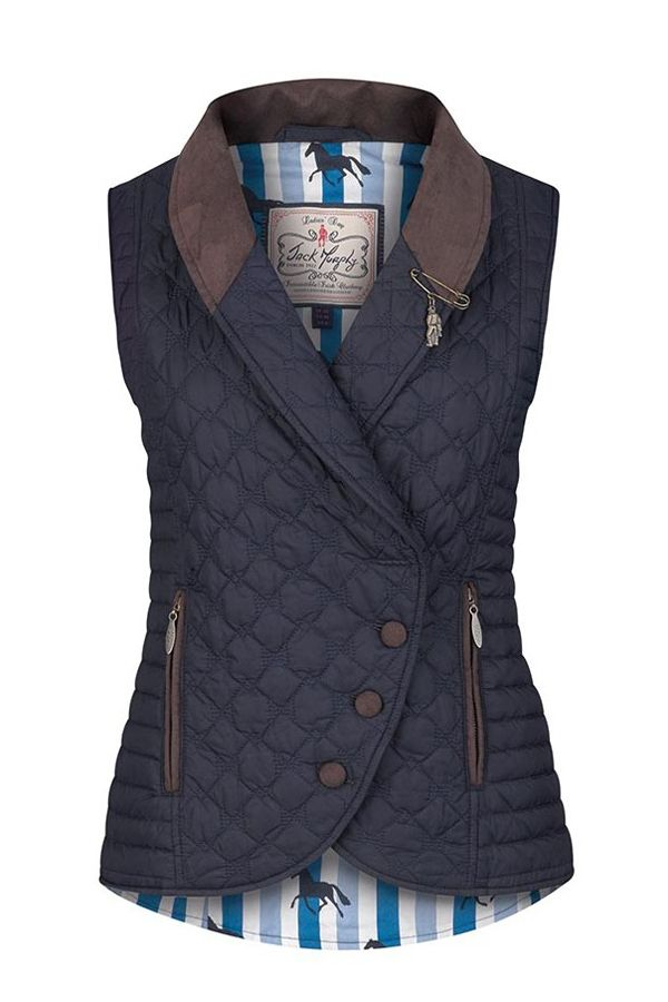 Country and Stable of Olney Limited - Jack Murphy Ladies Linda Gilet, £36.71 (http://www.countryandstable.co.uk/jack-murphy-ladies-linda-gilet/?gclid=CID-gLCs6c4CFUsq0wodysYB_g/)