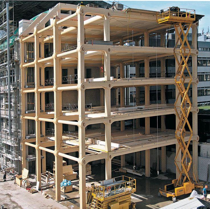 Em Detalhe: Edifício Comercial Tamedia, Shigeru Ban Architects