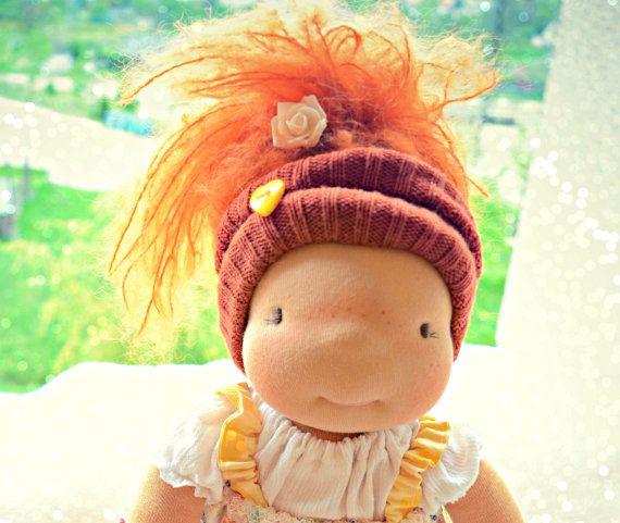 Waldorf doll, waldorf inspired doll, steiner doll, organic doll, fabric doll, cloth doll, handmade