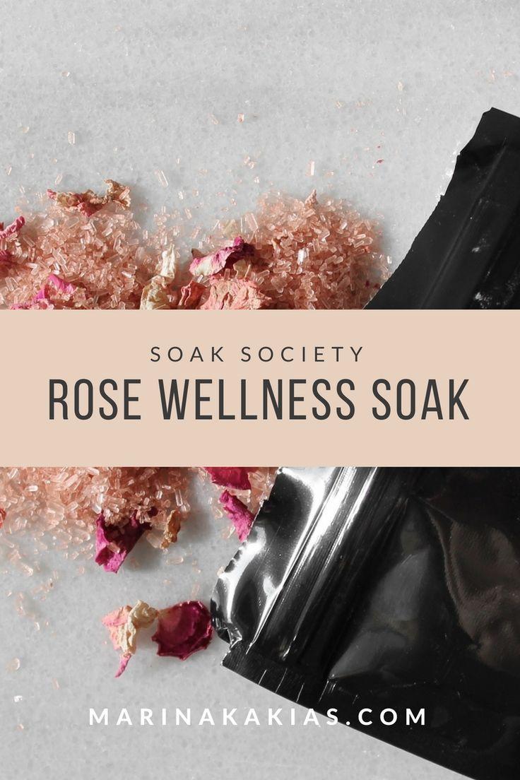 SOAK SOCIETY ROSE WELLNESS SOAK