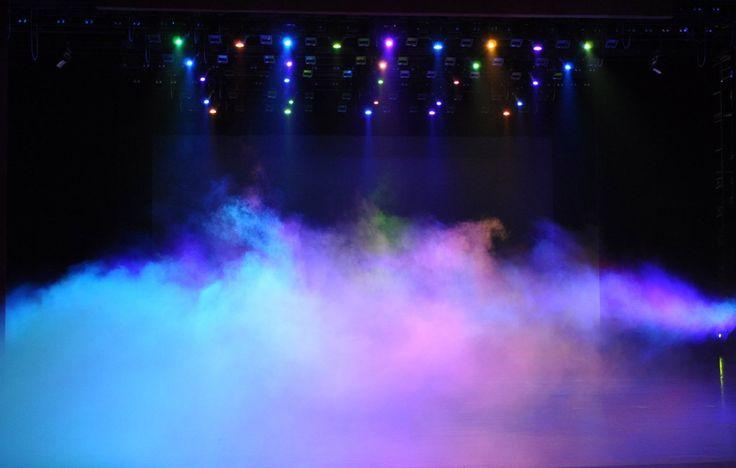 fog machine lighting